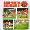 """Sticker album """"Campeonatos Nacionales de Fútbol 1972"""" Editorial Ruiz Romero"""