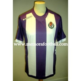 """NEIRA"" Real Valladolid nº7 LFP 2012/2013 match worn shirt vs Osasuna"