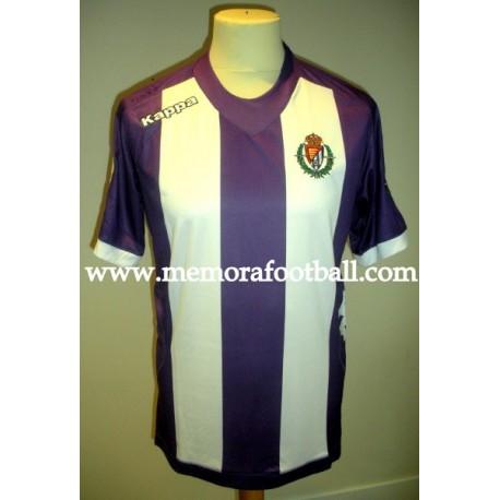 """NEIRA"" Real Valladolid nº7 LFP 2012/2013 match worn shirt vs Osasuna"