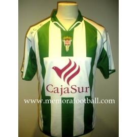 """KATXORRO"" Córdoba CF Nº25 LFP 2008/2009 camiseta usada en partido"