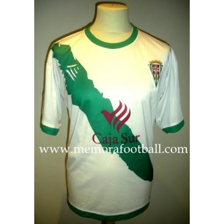 """""""PEPE DÍAZ"""" Córdoba CF Nº13, LFP 2008/2009 match worn shirt"""