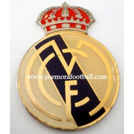 Escudo esmaltado del Real Madrid CF, circa 1960