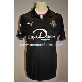 """CANOBBIO"" Real Valladolid nº20 LFP 2008/2009 away match worn shirt vs Atlético de Madrid"