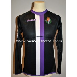 """TONI"" Real Valladolid nº36 LFP 2011/2012 match worn shirt"