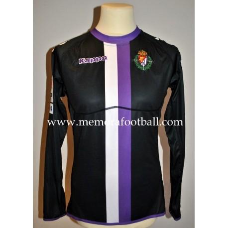 """TONI"" Real Valladolid nº36 LFP 2011/2012 match worn shirt"