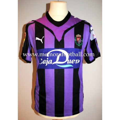 """J. SESMA"" Real Valladolid LFP 2009/2010 match worn shirt"