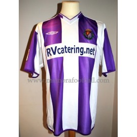 """ADURIZ"" Real Valladolid nº17 LFP 2004/2005 match worn shirt"