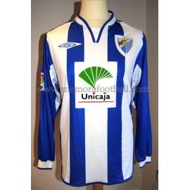 """""""ANDREU"""" Málaga CF B nº18 LFP 2005/2006 match worn shirt"""