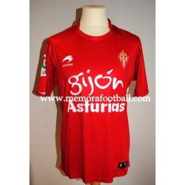 """RIVERA"" Sporting de Gijón 2010/2011 match worn shirt"