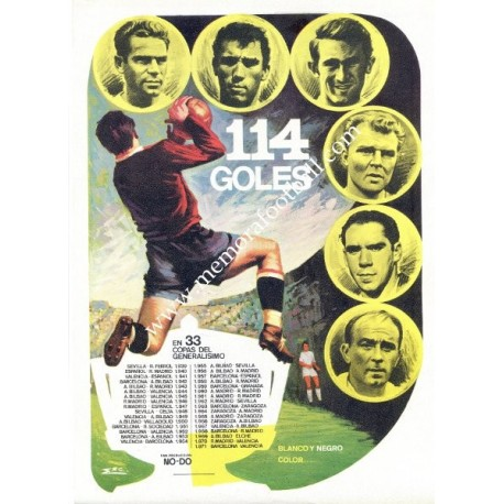 114 GOLES Cinema Lobby Card