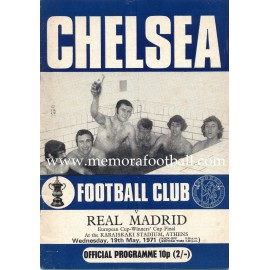 Chelsea vs Real Madrid 1971 European Cup Winners´Cup Final