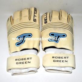 """""""ROBERT GREEN"""" guantes usados 2008-09"""