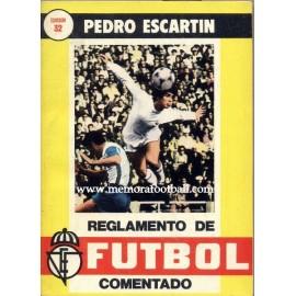 Reglamento del Fútbol, 1980 por Pedro Escartín