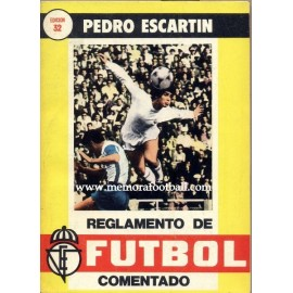Rules of Football 1980 by Pedro Escartín