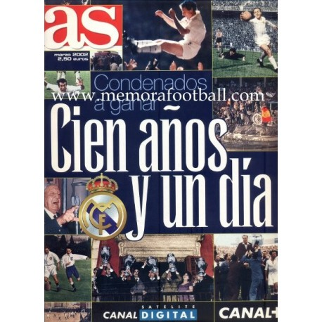 """AS"" Real Madrid Centenary Special 2002"