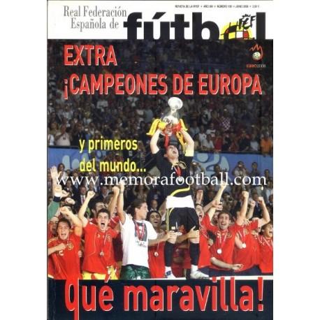 """""""FUTBOL"""" Extra """"Campeones de Europa"""" 2008"""