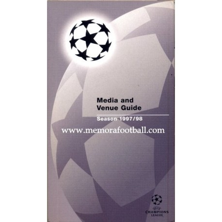 Media and Venue Guide Champions League 1997-98