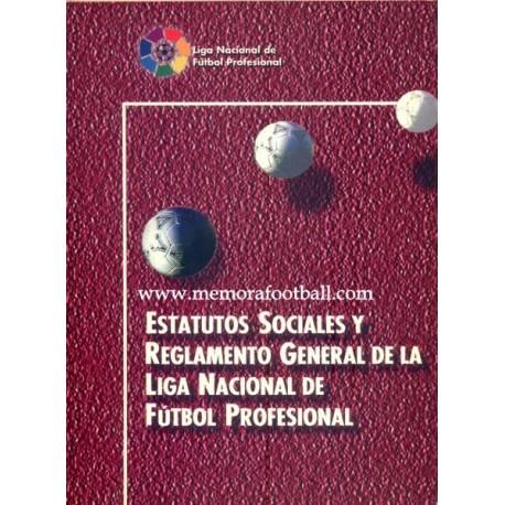 EstatutoS sociales y Reglamento de la LFP