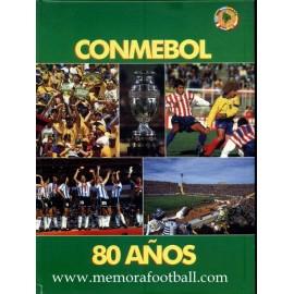 """""""CONMEBOL 80 AÑOS"""" 1916-1996"""