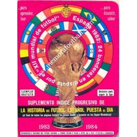 Calendario Dinámico Temporada 1983-1984