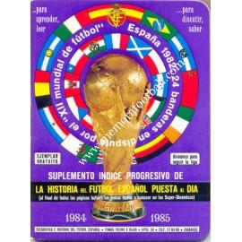 Calendario Dinámico Temporada 1984-85