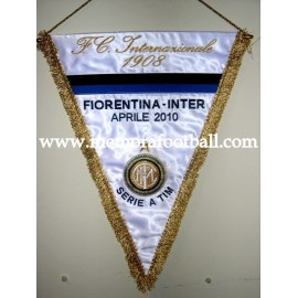 Fiorentina vs Inter 2010 pennant