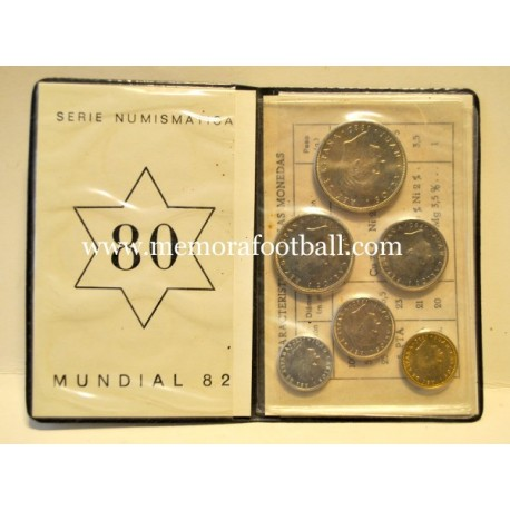 1982 FIFA World Cup Spain commemorative coins