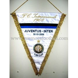 Juventus vs Inter 2008 pennant