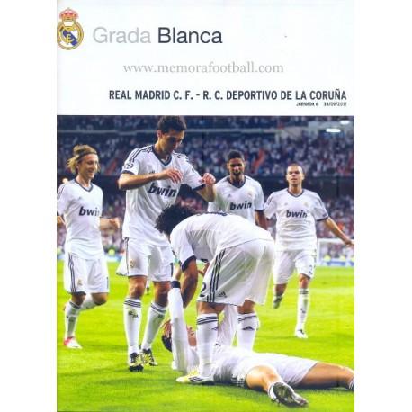 Real Madrid CF vs Deportivo de la Coruña LFP 2012-2013