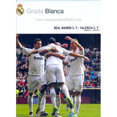 Real Madrid CF vs Valencia CF LFP 2011-2012