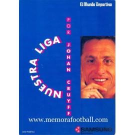 """Nuestra Liga"" por Johan Cruyff, 1991"