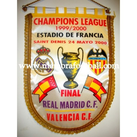 Real Madrid vs Valencia Champions League Final