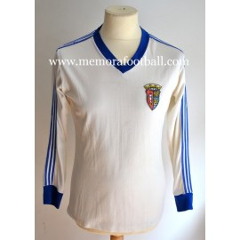 GD Alcobaça 1980s match worn shirt