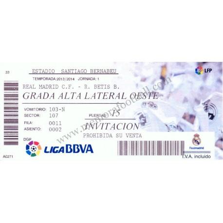 Real Madrid v Real Betis LFP 2013/14