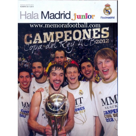 HALA MADRID JUNIOR nº35, 2012