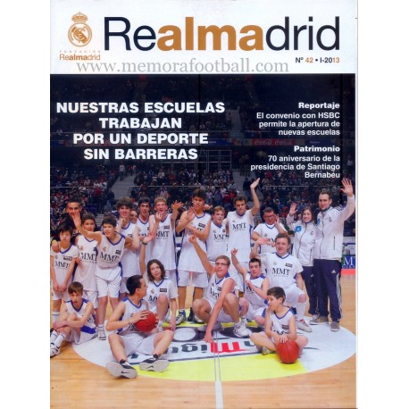 REAL MADRID (Official magazine) nº42, 2013