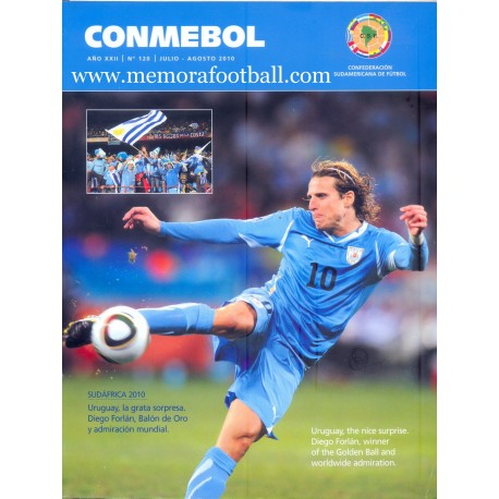 CONMEBOL Nº 120 July - August 2010