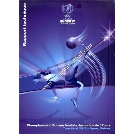 UEFA Women´s Under 17 Championship - Switzerland 2012