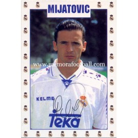 PEDJA MIJATOVIC Real Madrid CF 1995