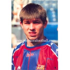 ALBERT CELADES FC Barcelona 1997