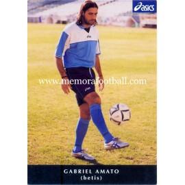 GABRIEL AMATO Real Betis Balompié 2000