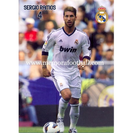 SERGIO RAMOS Real Madrid CF 2012-2013