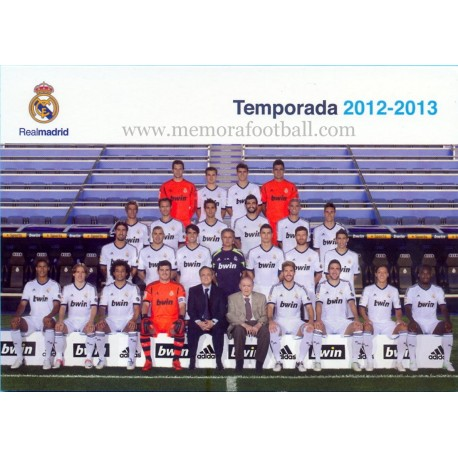 REAL MADRID CF season 2012-2013
