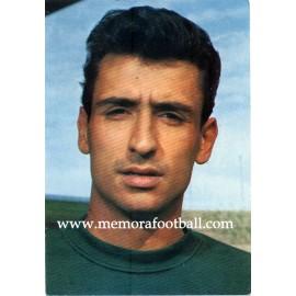 """""""SADURNÍ"""" CF BARCELONA 1967 postcard"""