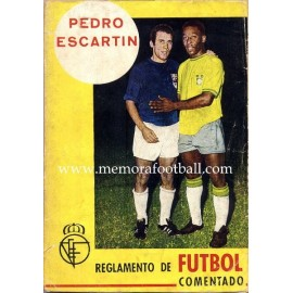 Rules of Football 1969 by Pedro Escartín