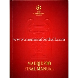 UEFA Champions League Madrid 2010. Manual de la Final