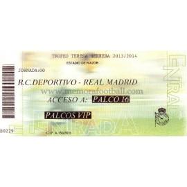 Real Madrid v Deportivo de la Coruña LFP 2012/2013, usada