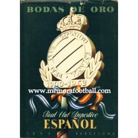 Bodas de Oro RCD Español, 1953