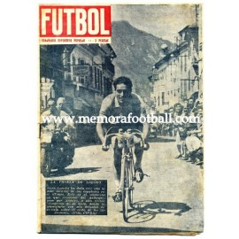 FUTBOL, Spanish football magazine 1953