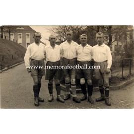 German Football players, 1920
